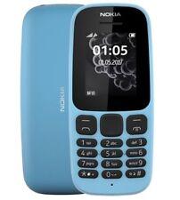 NOKIA 105 (2017) - (Sbloccato) Telefono cellulare (SINGLE SIM) Blu