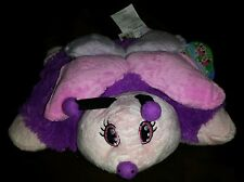 NWT As Seen On Tv Fluttery Butterfly Pillow Pets Pee Wee Stuffed Plush Toy