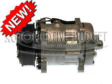 A/C Compressor w/Clutch for Sanden 4672 - Freightliner Kenworth Volvo - NEW