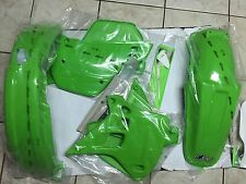 KIT PLASTICHE KAWASAKI KX 250 1990 1991 KIT 4 PZ COLORE ORIGINALE