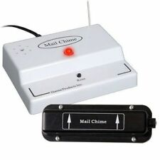 Mail Chime Wireless Remote Sensor Mailbox Sound Alert Alarm Notification System