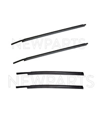 Rear & Front Outer Door Belt Mouldings Weatherstrip KIT Genuine For Tundra 07-17