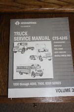 International Truck Service Manual