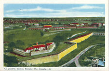 Postcard Canada Quebec City La Citadelle Citadel Cap Diamant PECO ca40s-50s MINT