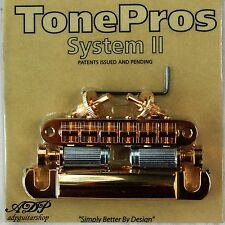 TonePros CHEVALET Nashville T3BP-G CORDIER T1ZS Tune-O-Matic Bridge GIBSON LP SG