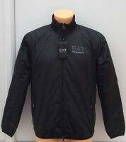 EMPORIO ARMANI EA7 Black Fully Fleece Lined Jacket Size S - XL BNWT