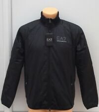 EMPORIO ARMANI EA7 Black Fully Fleece Lined Jacket Size Small BNWT