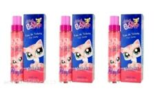 Lot of 3 Girls Littlest Pet Shop Kittens Eau de Toilette Spray 50ml/ea Not a Toy