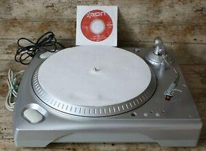 ION USB Turntable iTTUSB Vinyl Record Player Convert  Vinyl  To MP3