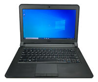 "Dell Latitude 3340 13"" Intel i3 8GB RAM 500GB HDD Win 10 WiFi USB B Grade Laptop"