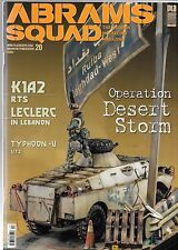 Abrams Squad 20: The Modern Modelling Magazine, Operation Desert Storm Diorama