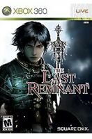 Last Remnant XBOX 360 Game Disc Only 2b Rpg Fantasy