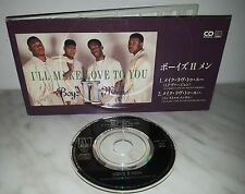 "3"" CD BOYZ II MEN - I'LL MAKE LOVE TO YOU - JAPAN - PODT-1029"