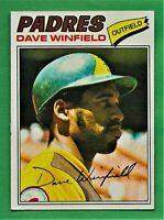 1977 Topps Dave Winfield #390 San Diego Padres - HOF!!!
