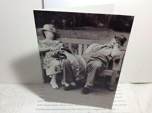 AVANTI PRESS HAPPY BIRTHDAY GREETING CARD New with Envelope Sleeping Couple!