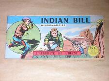 RARE BD A L'ITALIENNE / INDIAN BILL N° 1 / L'ACROBATE DE L'OUEST / EO 1958