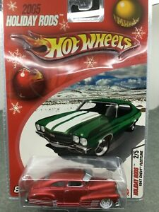Hot Wheels *2005 Holiday Rods * 1947 Chevy Fleetline **1:64* Limited Edition