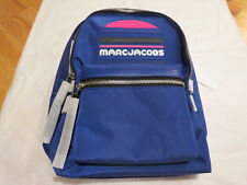 Marc Jacobs Trek Sports Logo Backpack Royal Blue $225 Authentic New NWT