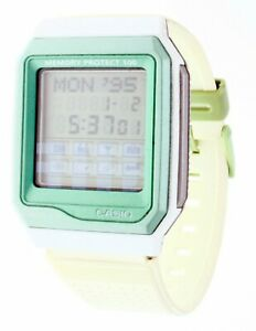 NEW Rare Vintage White Resin Touch screen Casio Wrist Watch Data bank VDB 101IM