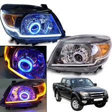 2009-2011 Ford Ranger T5 XLt Upgrade Head Lamp Light Projector Hid Drl Blue Ute