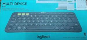 Logitech K380 Bluetooth Multi Device Keyboard-German / Deutsche / QWERTZ layout