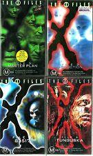 X-Files VHS Bundle: 4 Genuine 90s Sets. New & Sealed! RARE.