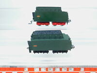 BZ487-0,5# 2x Märklin H0/AC Tender für 3046 Dampflok 150 X 29 SNCF, 2. Wahl