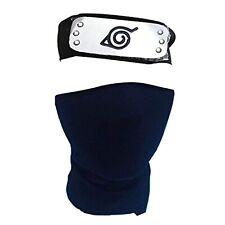 Headband Leaf Village Black Kakashi Mask Toy for Black Naruto Anime Cosplay