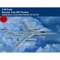 HobbyBoss 81767 1/48 Russian Yak-28P Firebar Plastic Aircraft Assembly Model Kit