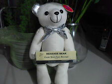 Silver Bear Signature Guest Book 16th 18th 21st Birthday  Going Away Memories L