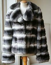 MILADY CHINCHILLA FUR JACKET FR 42 UK 14