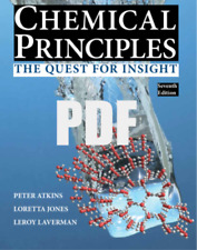 (P.D.F VERSION) Chemical Principles: The Quest for Insight SEVENTH (7th) EDITION