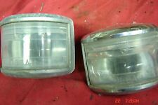1951 Chrysler Deluxe REVERSE LIGHTS PAIR    Desoto, Plymouth, Dodge