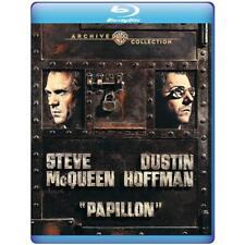 Papillon 1973 (Blu-ray) Steve McQueen, Dustin Hoffman, Victor Jory - New!