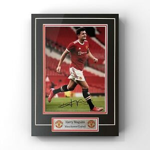 Harry Maguire - Manchester United Defender Signed Display