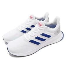 Adidas Run Falcon Sneakers Running Athletic White/Blue/Gray Men's Sz 6.5  EF0148