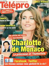 Télépro N°3054 charlotte de monaco gad elmaleh les freres taloche 2012