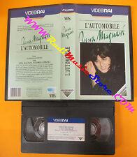 VHS film L'AUTOMOBILE Anna Magnani 1971 VIDEORAI VRN 2123 90 minuti(F120) no dvd