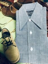 DEADSTOCK!1970's Dee Cee Rappers Boys/Girls Long Sleeved, Dress Tail Shirt