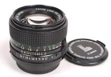 Canon FD/NFD 50mm F1.4 Lens - EX/EX+