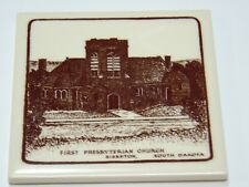 First Presbyterian Church Sisseton, South Dakota tile vintage by Mosiac Tiles