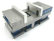 Kurt 6 Versatile Lock Precision Cnc Machine Short Vise With Jaws 3620v