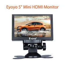 Eyoyo 5 inch Mini HDMI Monitor 800x480 Car Rear View BNC BGA AV Input for PC