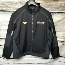 Ed Carpenter Indycar Mens Size Large Black Jacket Racing Chevrolet Indy 500