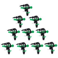 10x 360°Adjustable Lawn Sprinkler Automatic Garden Plant Watering Irrigation
