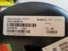 Lot of 5 units ROS-2500W-4+ mini circuits VCO 1500-2450 MHZ 10V