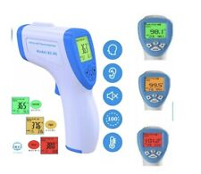 No Touch Infrared Digital Forehead Thermometer Baby Adult Body Temperature Gun.