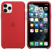 Genuine Apple Silicone Case for iPhone 11 Pro - (PRODUCT) RED - MWYH2ZM/A - New