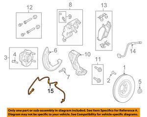 FORD OEM 13-17 Taurus-ABS Wheel Speed Sensor DG1Z2C204C