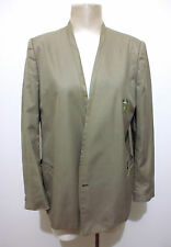 GIANNI VERSACE VINTAGE '80 Giacca Donna Caban Woman Cotton Jacket Sz.L - 46